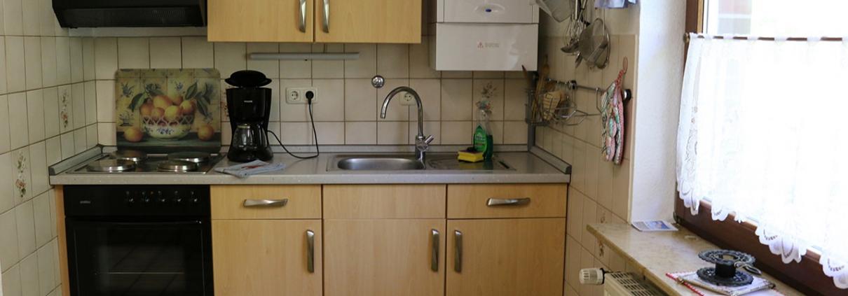 ferienwohnung horumersiel küche